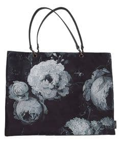 Boho&Co Floralism Moonlit velvet shoulder bag