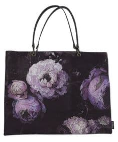Boho&Co Floralism velvet shoulder bag