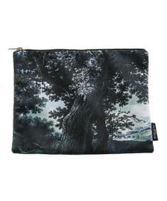 Boho&Co Trees Two Multi  velvet grooming bag