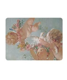 Cherubs serving mat/potstand
