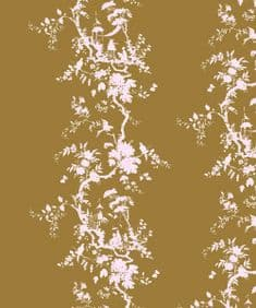 Chinoiserie - Gold and Blush