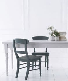 Classique bespoke painted tables & benches