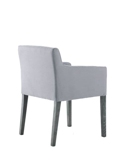 Dine upholstered dining chair - linen