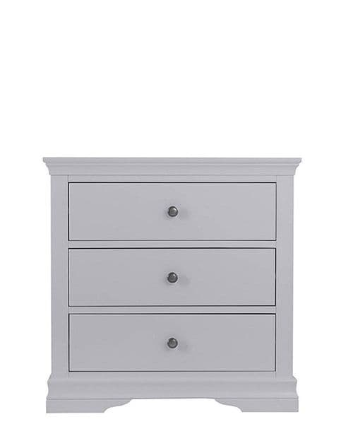 English Heritage 3 drawer chest - dove grey