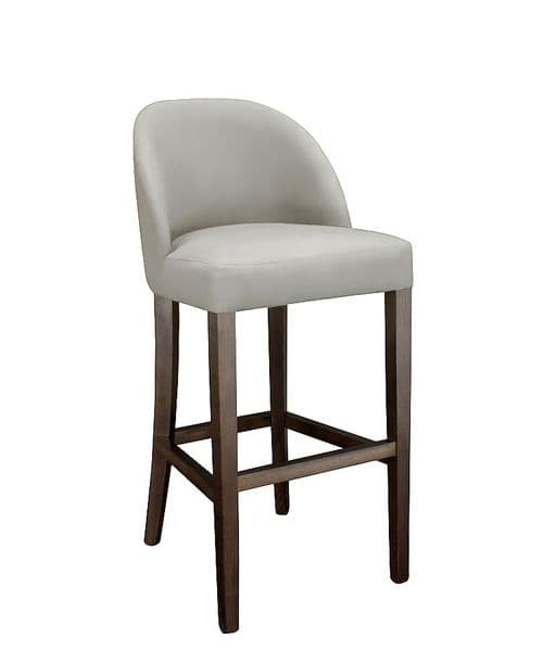 Harper upholstered bar stool  - velvet