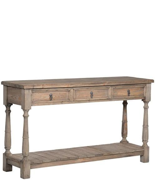 Modern Rustic pot table/console