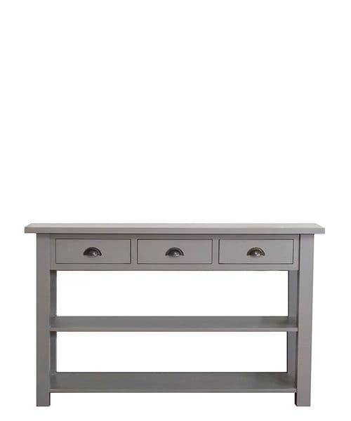 New Country painted kitchen console
