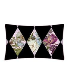 Supercamp Fleurs de Marie Antoinette Harlequin cushion