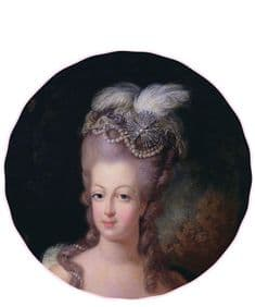 Supercamp Marie Antoinette round cushion