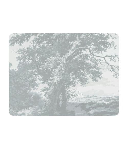 Trees Two Silver serving mat/potstand