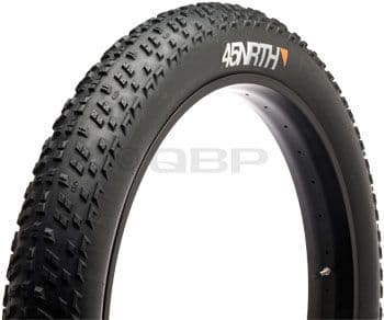 "45NRTH Husker Du Tire 26 x 4.0"" 120tpi Folding Tire Ultralight Casing"