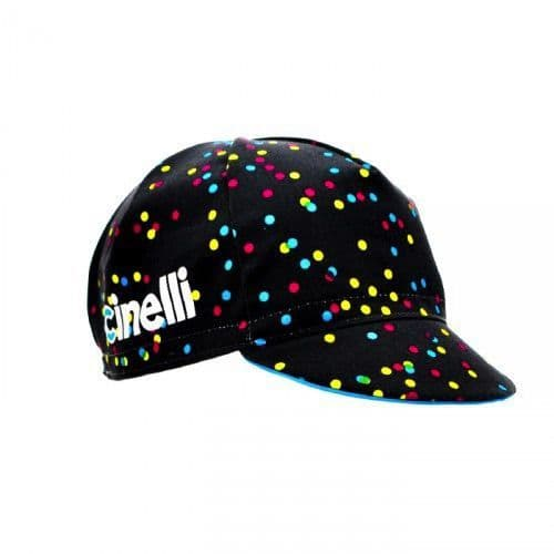 Cinelli Cycling Cap: Caleido Spots