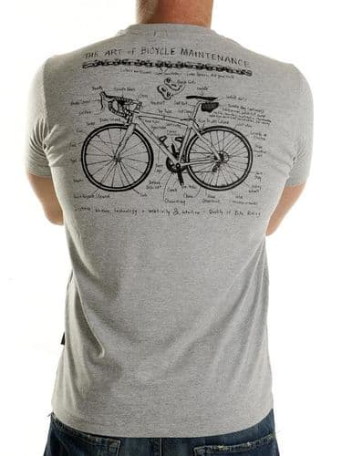 Cycology Art of Bike Maintenance T-Shirt