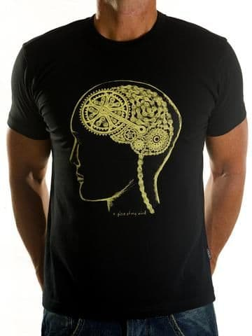 Cycology Bike Brain T Shirt