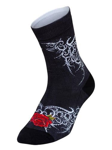 Cycology Roses Cycling Socks