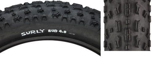 "Surly Bud 26x4.8"" Folding Tyre"