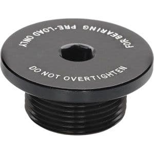 Surly Replacement bearing adjustment cap for Mr. Whirly cranks.