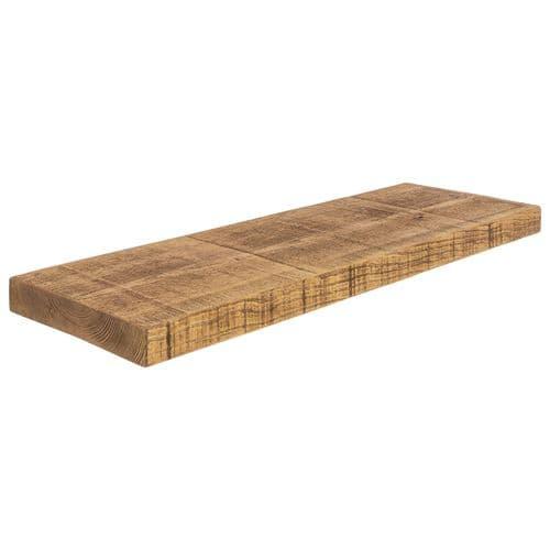 12x2 Rustic Floating Shelf (29x5cm)