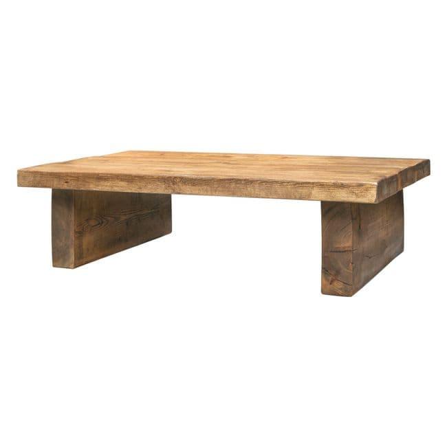 Chopwell Chunky Wooden Coffee Table   Funky Chunky Furniture