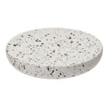 Black and White Terrazzo Soap Dish