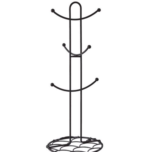 Black Metal Mug Tree