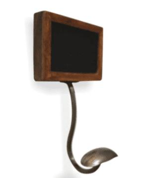 Blackboard Sign Coat Hanger