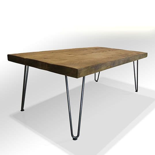 Bowes Tall Coffee Table with Hairpin Legs
