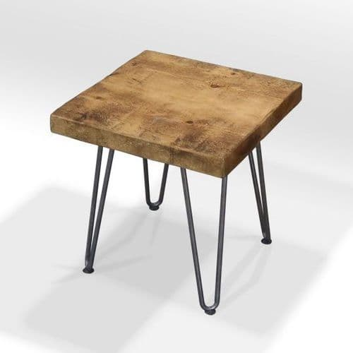 Bowes Hairpin Leg Side Table