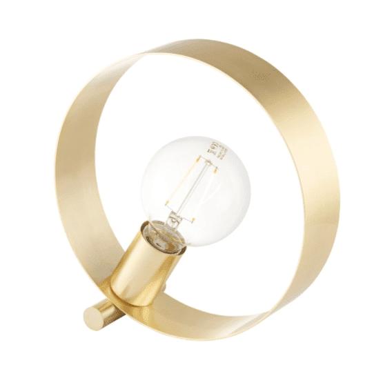 Brass Hoop Table Lamp
