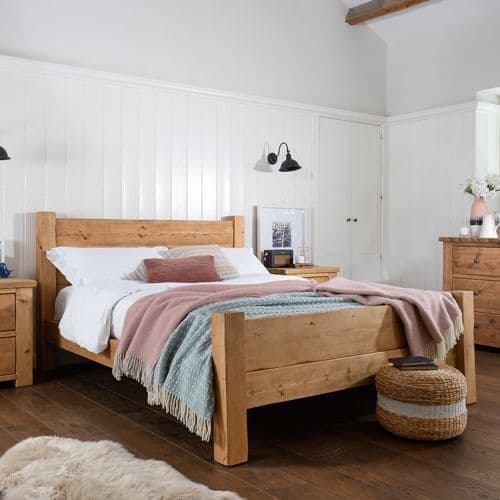 Coleridge Bed Frame With Footboard
