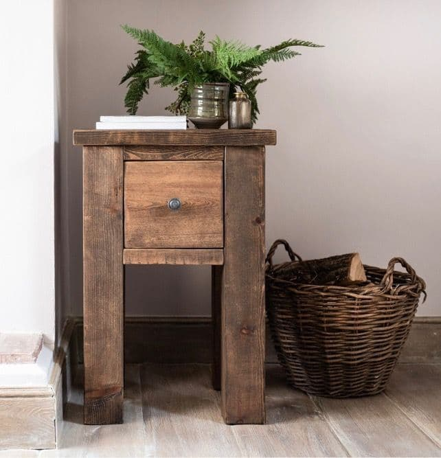 Coleridge Side Table with Drawer