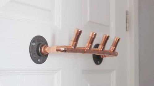 Copper Coat Hooks