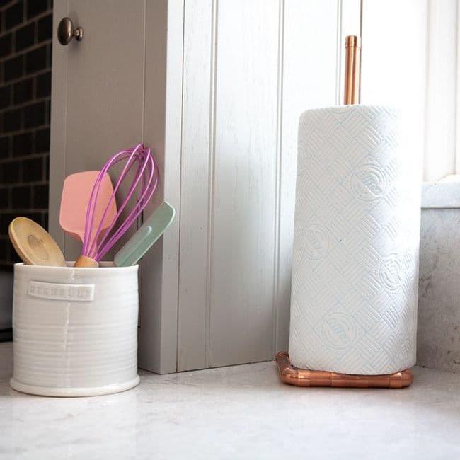 Home Accessories   Copper Toilet / Kitchen Roll Holder