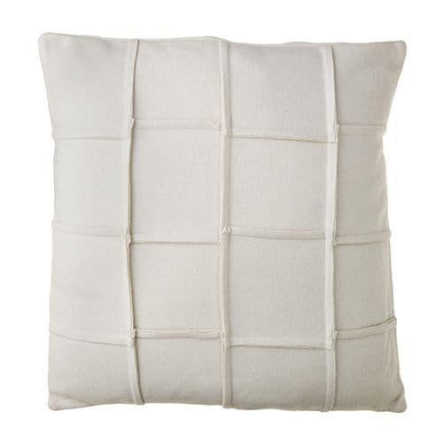 Cream Wool Mix Cushion