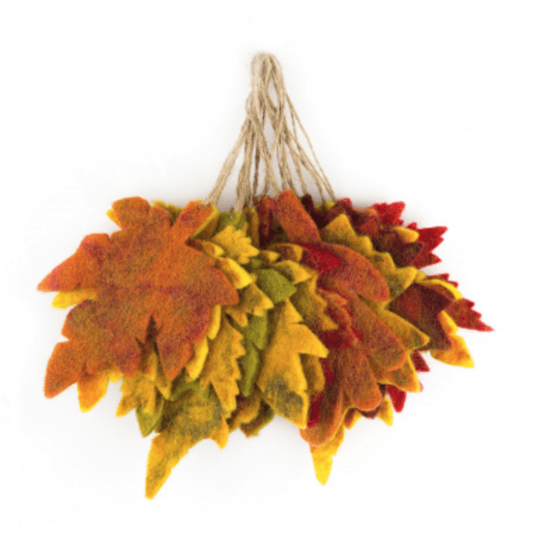 Felt Autumn Leaf | 25% OFF