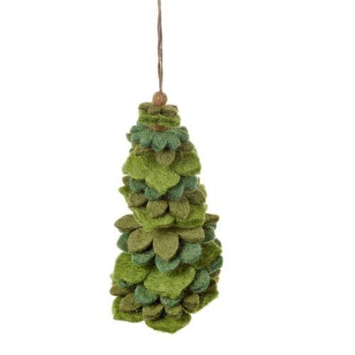 Felt Christmas Tree - Green