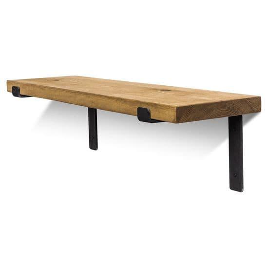 Hetton Solid Wood Shelves & Brackets