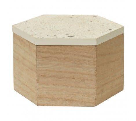 Large Terrazzo Trinket Box