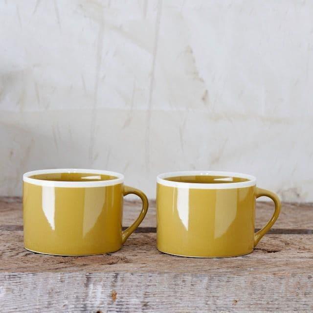 Mustard Yellow Mug | Home Accessories