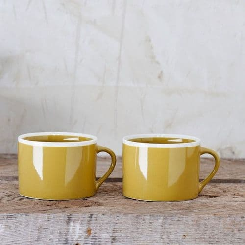 Mustard Yellow Mug