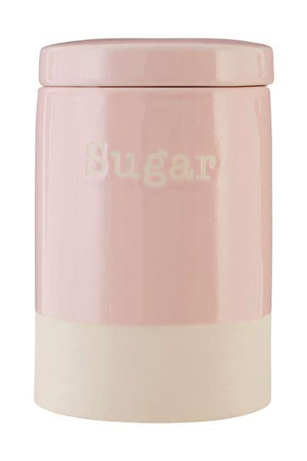 Pastel Pink Sugar Canister   25% OFF SALE
