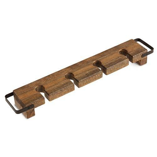 Solid Wood Wine Tasting Paddle