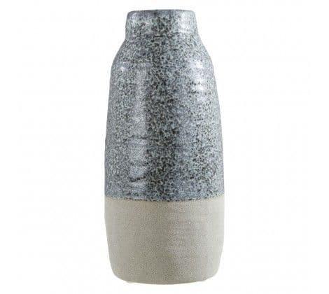Speckle Glazed Stoneware Vase