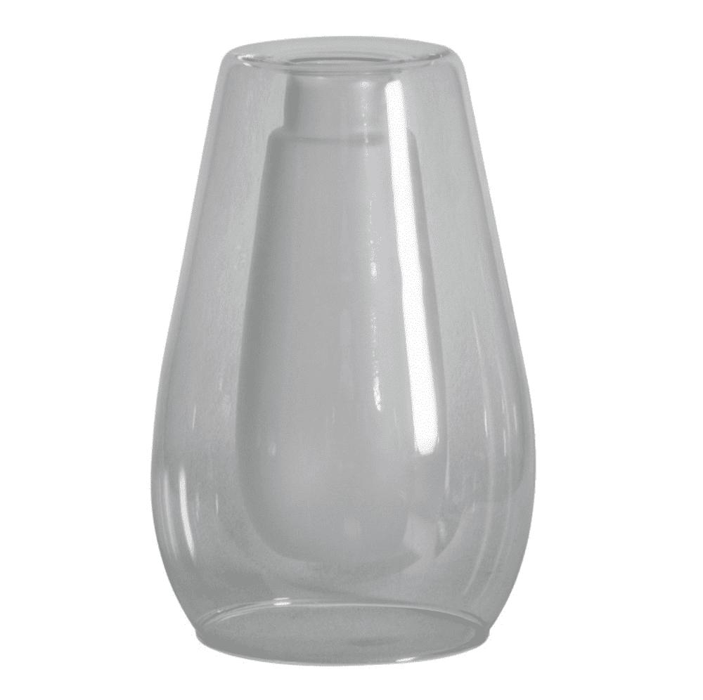 Suspended Tall White Vase