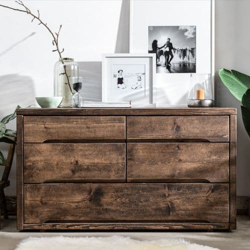 Wansbeck Wooden Chest of Drawers | Handmade Furniture