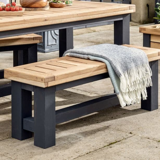 Wylam Outdoor Dining Bench | Outdoor Furniture