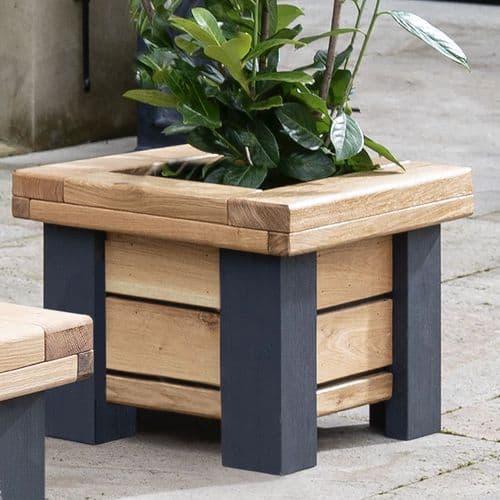 Wylam Solid Oak Planter