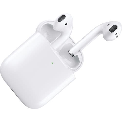 Apple AirPods White 2019 W/Wireless Charging Case