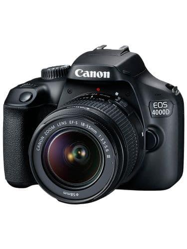 Canon Beginners Bundle (Canon 4000D)