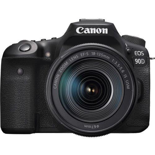 Canon EOS 90D + 18-135mm IS Nano Kit